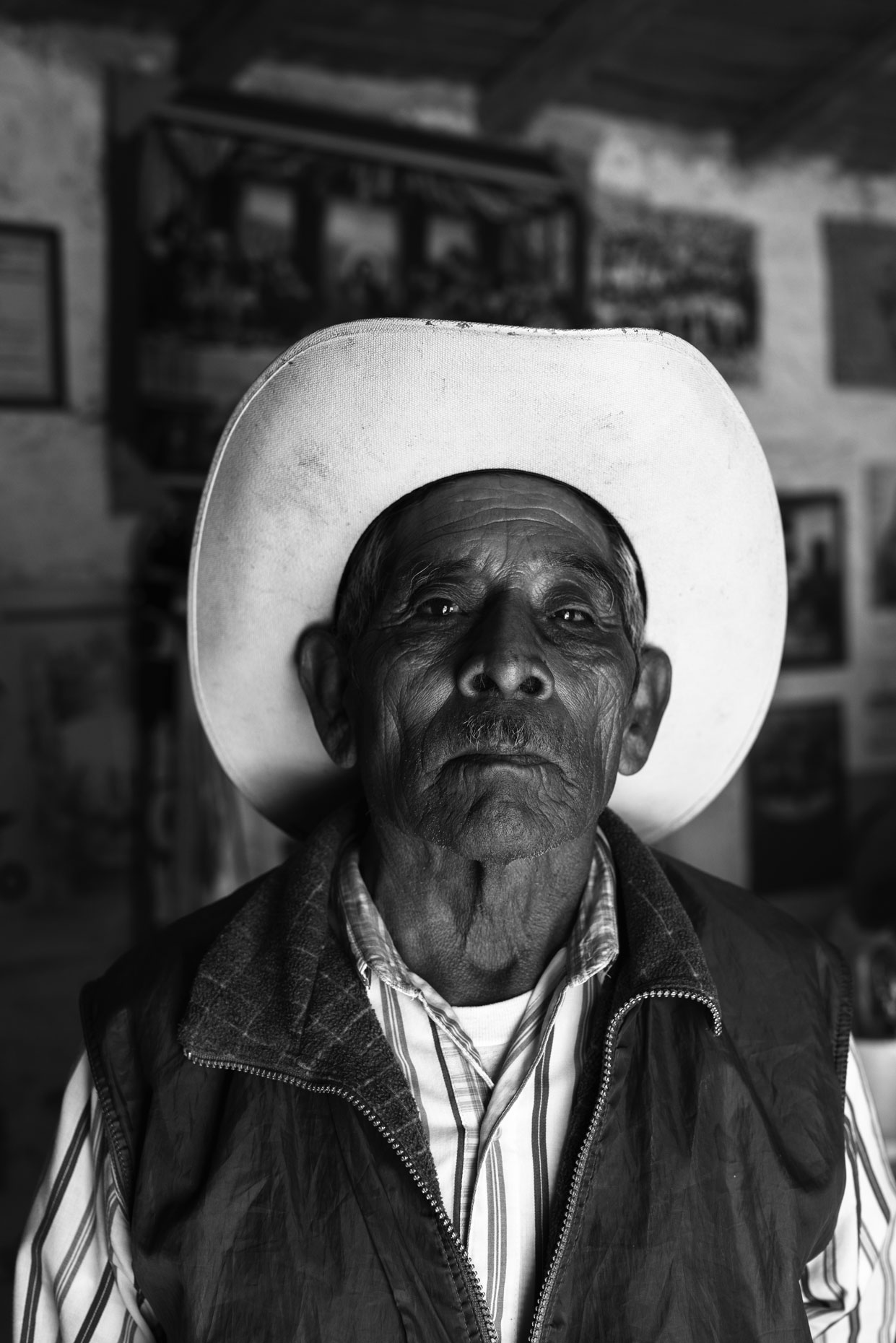 Mexican rancher  in the mountains of Oaxaca