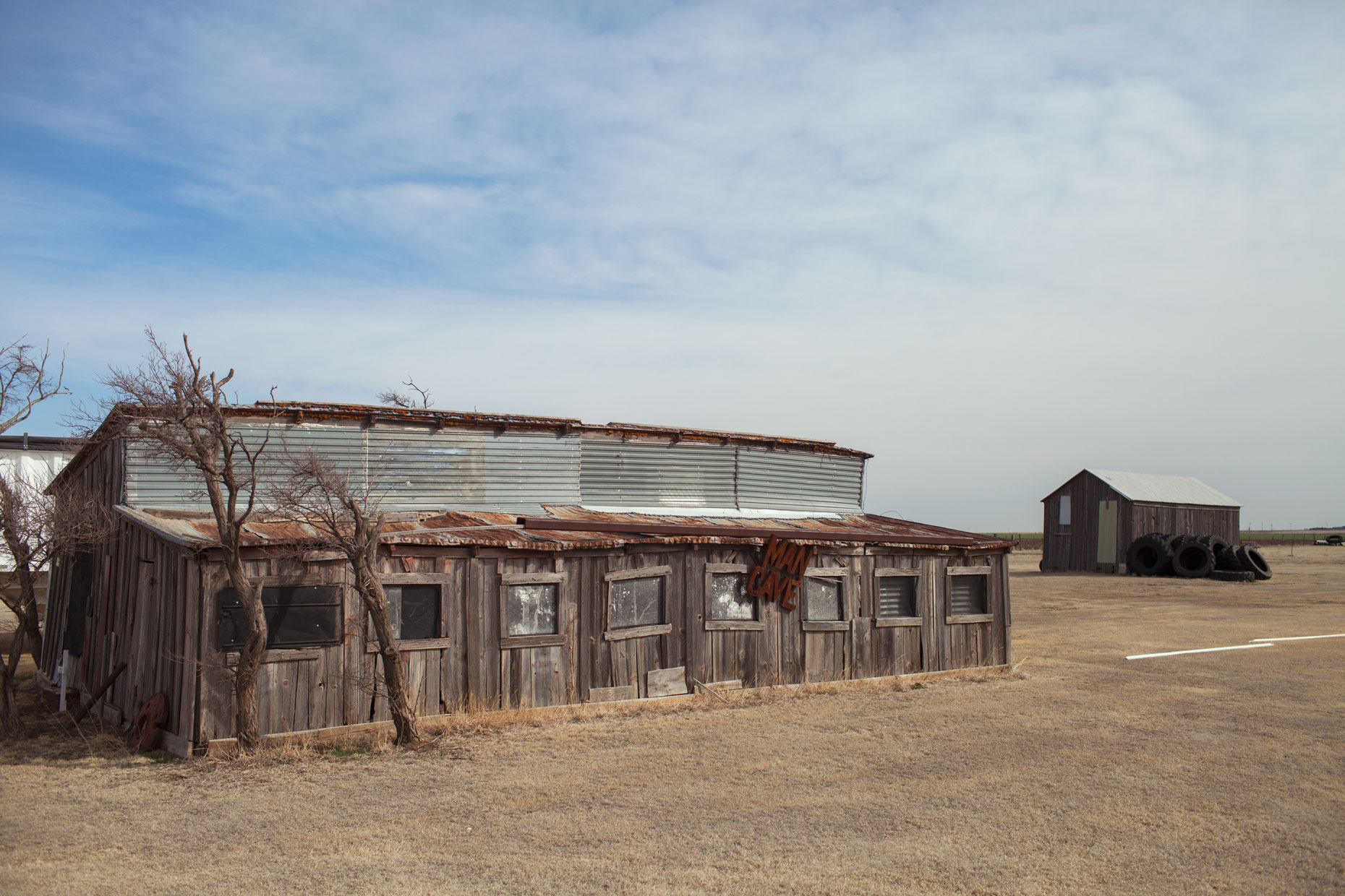 Old barn in White Deer in the Texas Panhandle
